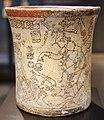 Messico, maya, vaso con scena ultramondana, periodo classico recente, VII-X sec., 03.JPG