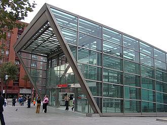 Sarriko (Metro Bilbao) - Station's entrance