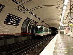 Metro de Paris - Ligne 13 - station Liege 02.jpg