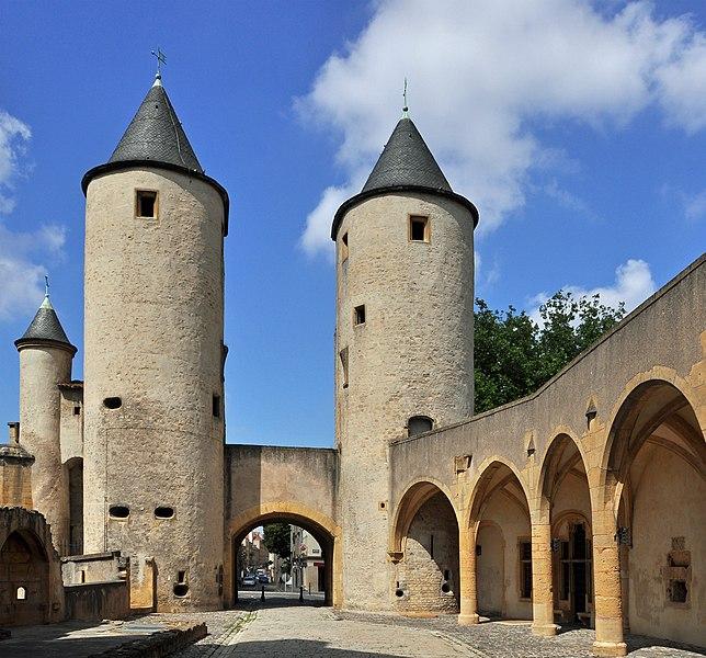 Metz (France): Porte des Allemands