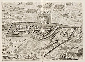 Siege of Meurs (1597) - Siege of Meurs (Moers) by Maurice of Orange in 1597