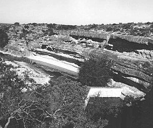 National Register of Historic Places listings in Terrell County, Texas - Image: Meyers Springs Pictograph Site