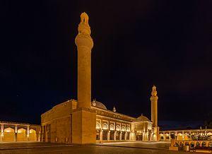 Juma Mosque, Shamakhi - Lateral view.
