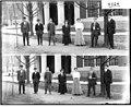 Miami University junior class members outside of Auditorium Building 1909 (3191491785).jpg