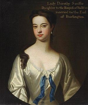 Dorothy Boyle, Countess of Burlington - Image: Michael Dahl, Possibly Lady Dorothy Savile, Countess of Burlington and Countess of Cork (1699 1758), circa 1720, Hardwick Hall, National Trust