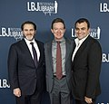 Michael Stuhlbarg, Lawrence Wright and Ali Soufan (40487306102).jpg