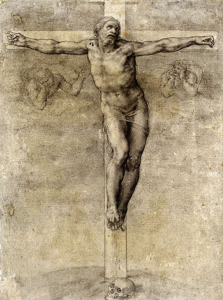 File:Michelangelo, Christ on the Cross.jpg