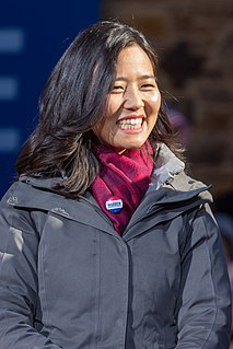 Michelle Wu City Councilor in Boston, Massachusetts