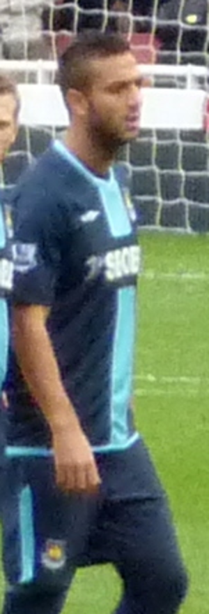 Mido (footballer) - Mido playing for West Ham United in 2010