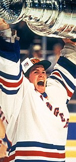 Mike Richter American ice hockey goaltender