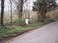 Milestone near Cranborne - geograph.org.uk - 372848.jpg