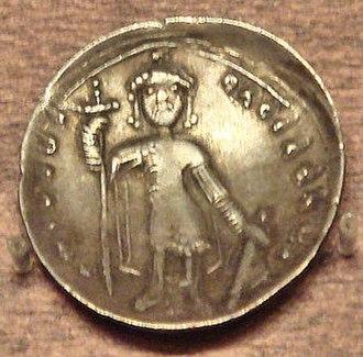 Michael VII Doukas - Miliaresion of Michael VII Doukas.