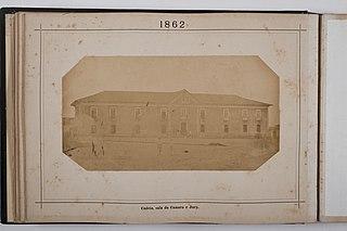 Cadeia, sala da Camara e Jury, 1862