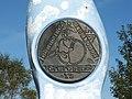 Millennium milepost (detail) - geograph.org.uk - 917750.jpg