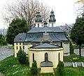Miniatura bazyliki krzeszowskiej w parku miniatur w Kowarach DSCF3666.jpg