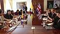 Ministro británico de Estado, Jeremy Browne, se reúne con Canciller encargado, Kintto Lucas de Ecuador (5974286969).jpg