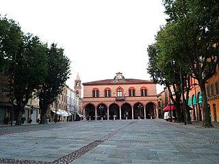 Mirandola Comune in Emilia-Romagna, Italy