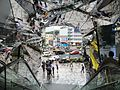 Mirrored Entrance to Harajuku Shopping Building (20446259701).jpg