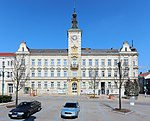 District administration, town hall