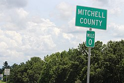 Mitchell County border, GA37 EB.jpg