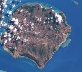 Moa Island (Queensland) - Image: Moa Island (Landsat)