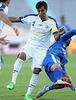 Mohammad Tayyebi Footballer