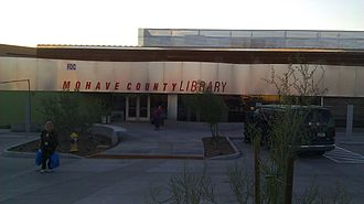 Bullhead City, Arizona - Mohave County Library in Bullhead City was remodeled and expanded in 2011. Its 10-million dollar, 24,000 sq. ft. building uses the most recent technologies for adapting buildings for the desert climate, and is designed to resemble a rustic warehouse.