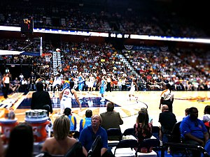 Connecticut Sun - A Sun game in 2011