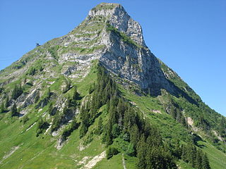 mountain of the Swiss Prealps