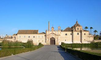 International University of Andalucía - Image: Monastère de la Cartuja