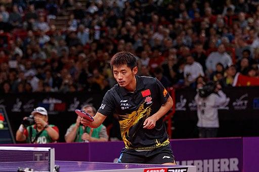 Mondial Ping - Men's Singles - Final - Zhang Jike vs Wang Hao - 06