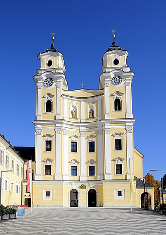 Mondsee Abbey - The Collegiate Church of St Michael, Mondsee — formerly the monastery church