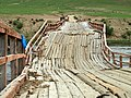 Mongolia 2011 - Jaargalant wooden bridge2.jpg