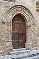 Montblanc (34) Ste-Eulalie portail.jpg