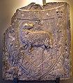 Montopoli, stemma dell'arte della lana (agnus dei).JPG