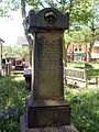 Monument in churchyard, St Chad's Church, Poulton-le-Fylde.jpg