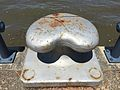 Mooring bollards along Brisbane River 02.JPG
