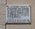 Moradillo de Roa, placa a la maestra Agripina Sanz Adrados.jpg