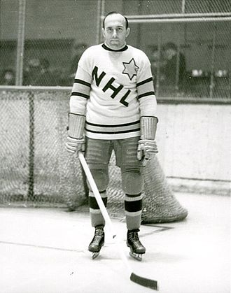 Howie Morenz Memorial Game - Morenz played in the Ace Bailey Benefit Game in 1934.