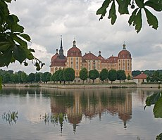 Saxony is home to numerous castles, like the Schloss Moritzburg north of Dresden.
