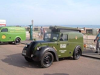 Morris Eight - Morris Series Z Van