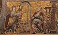 Mosaici del battistero di firenze, storie del battista, 1250-1330 ca., 01 annuncio a zaccaria, attr. a cimabue.JPG