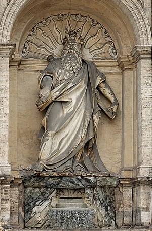 Acqua Felice - Moses, by Leonardo Sormani and Prospero Antichi added little to their contemporary reputations