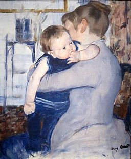Mother and Child by Mary Cassatt, Cincinnati Art Museum