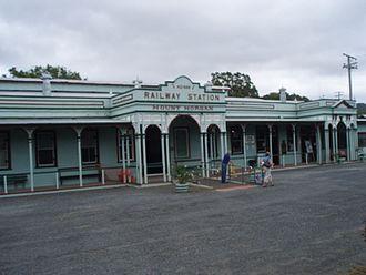Mount Morgan railway station - Mount Morgan Railway Station Complex