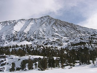 Mount Morgan (Inyo County, California) - Morgan seen from Little Lakes Valley