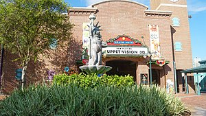 Muppet*Vision 3D - Image: Muppet Vision 3D 2017 marquee