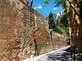 Muralles de València, torres de Quart.JPG