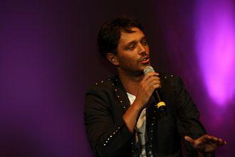 Murat Boz - Boz performing at a concert, September 2010