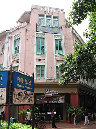 Tanjong Pagar - Murray Terrace is named after Colonel A. Murray, Colonial Engineer and Surveyor General of the Straits Settlements at the turn of the 20th century.
